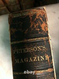 Peterson's Magazine Jan-Dec. 1861, 12 Color Fashion Plates