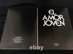 Photography Book Magazine AMOR JOVEN IONESCO BOURBOULON HAMILTON RARE 1977