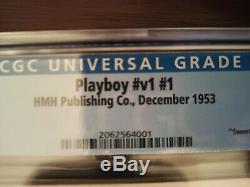 Playboy 1st Issue Dec 1953, Marilyn Monroe CGC 6.5