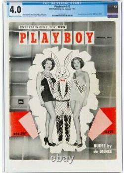 Playboy #2 CGC VG 4.0