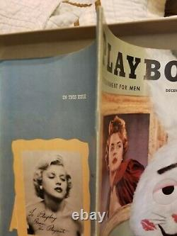 Playboy December 1954 Very Good Condition Free Shipping USA