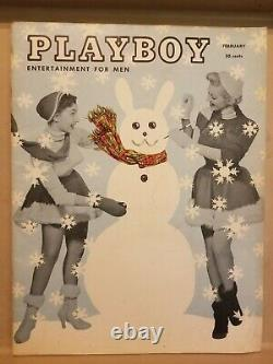 Playboy February 1955 Very Good Condition Free Shipping USA