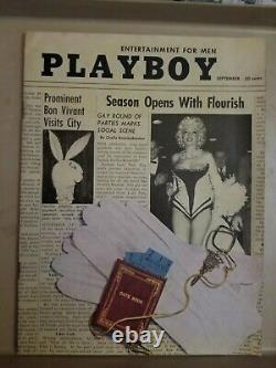 Playboy September 1955 Very Good Condition Free Shipping USA