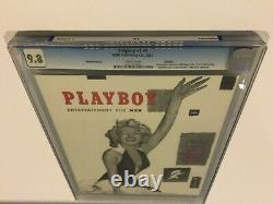 Playboy Vol 1 No 1 Premiere First Issue Marilyn Monroe Nude Cgc 9.8 Mint Reprint