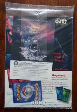 Pokemon Duelist Magazine September 1999 Wizards W Pikachu! SEALED
