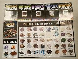 Precious Rocks Gems & Minerals Magazine Issues 1-67 Guide Case Poster 103 Stones