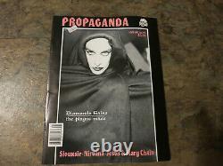 Propaganda Magazine #18 Diamanda Galas Siouxsie Nirvana SWANS Goth magazine