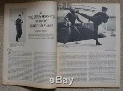 RARE Bruce Lee BLACK BELT Magazine 1967 Green Hornet Kato Kung Fu