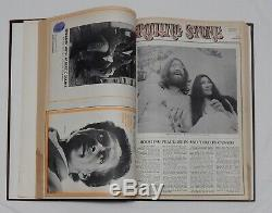 ROLLING STONE MAGAZINE Bound Book #3 Issues 31-45 April-November 1969 Woodstock