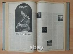 ROLLING STONE MAGAZINE Bound Book #7 Issues 91-115 Sept 16 1971 March 30 1972