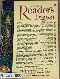 Readers Digest January 1965 Oak Islands Mysterious Money Pit. Canadian Version