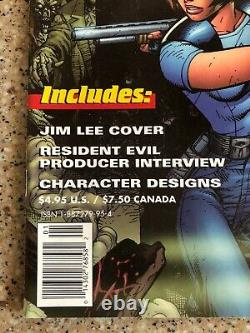 Resident Evil The Official Comic Book Magazine #1 1998 Jim Lee Cover Newsstand