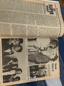 Rock Scene Magazine September 1975 Kiss Cover- Nice