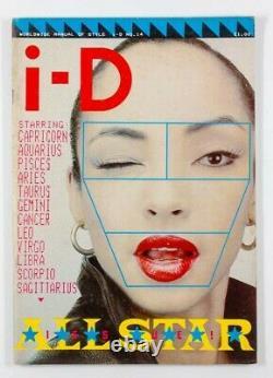 SADE Madonna FIORUCCI Keith Haring NICK KNIGHT Boy London i-D magazine # 14 1983