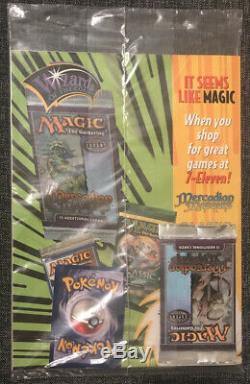 SEALED Top Deck Vol. 1 Issue 1, Dec. 1999 with Magic the Gathering Pack RARE