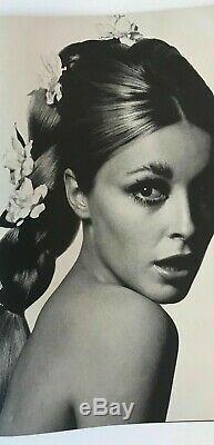 SHARON TATE Donyale Luna JEAN SHRIMPTON Bailey BRITISH VOGUE magazine April 1966