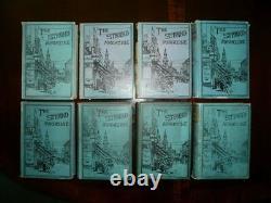 SHERLOCK HOLMES Genuine 1st Editions Vols 1 8 Strand Magazine Original Covers