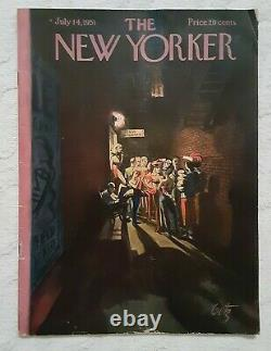 SIGNED! J. D. Salinger Pretty Mouth and Green My Eyes. New Yorker 1951 Gell-Mann