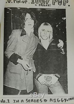 SNIFFIN' GLUE Issue #3 September 1976 Punk Mark Perry Punk Zine Magazine