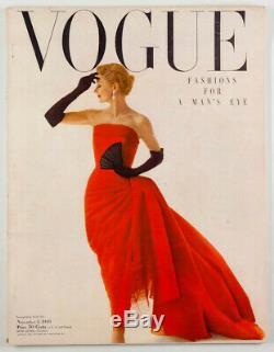 Salvador Dali MAINBOCHER Winthrop Bobo Rockefeller VOGUE magazine November 1949