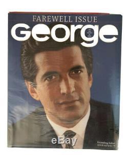 Sealed George Magazine Farewell Issue John F. Kennedy Jr May 2001 Vol 6 No 1 JFK