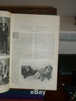 Sherlock Holmes Strand Magazine 1st Ed Jan June 1893 Vol 5 Superb Delux Ed