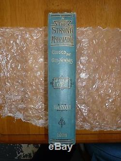 Sherlock Holmes true 1st Edition Strand Magazine 1908 Vol XXXVI Delux Gold Leaf