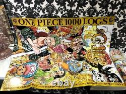 Shonen Jump 2021 No. 3-4 & 5-6 ONE PIECE 1000 episode commemorative issue 2SET