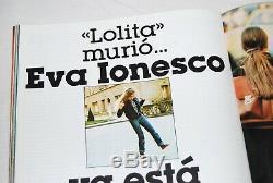 Siesta nº 2 Spanish magazine Eva Ionesco Irina Very Rare 1976