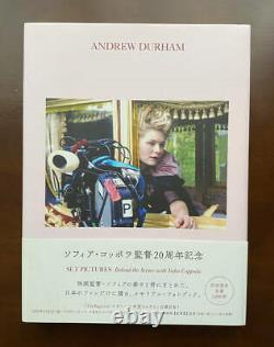 Sofia Coppola Photo Book Andrew Durham Set Pictures Behind the Scenes USED FS