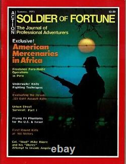 Soldier Of Fortune The Journal Of The Professional Adventures / Summer 1975