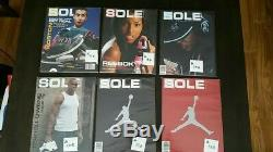 Sole Collector Magazine 91 issue lot Nike Yeezy Jordan Adidas deadstock kicks
