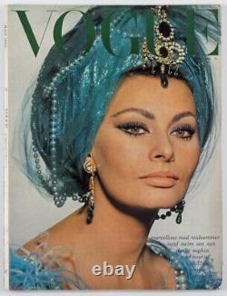 Sophia Loren EGYPT Helmut Newton WARHOL Norman Parkinson SHEIKS Vogue July 1967