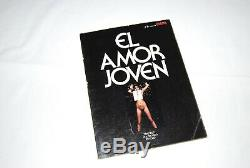 Spain EL AMOR JOVEN Eva Ionesco 1977 Hamilton Bourboulon Extremely RARE