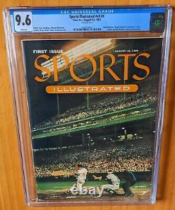 Sports Illustrated 1954 #1 First Newsstand CGC 9.6 Inaugural Edition Great Gift