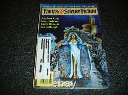 Stephen King Gunslinger in Magazine of F&SF 1st complete set very good