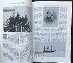 Strand Magazine Jan 1897 A Conan Doyle Life On Greenland Whaler +Sherlock Holmes