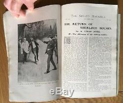 Strand Magazine SOLITARY CYCLIST January 1904 Sherlock Holmes Conan Doyle