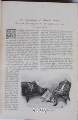 Strand Magazine, Vol IV, V, VII, 1892-1893, Adventures of Sherlock Holmes, 3 Vols