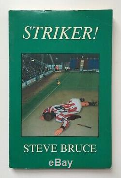 Striker! Steve Bruce Paragon Press 1st Ed 1999