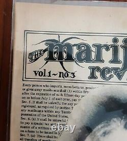 THE MARIJUANA REVIEW VOL 1 No. 2 June -August 1969 TIMOTHY LEARY LSD WOODSTOCK