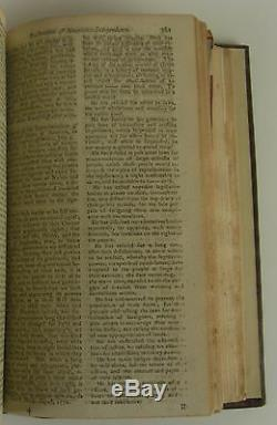 THOMAS JEFFERSON The Declaration of Independence in The Gentleman's Magazine 1S