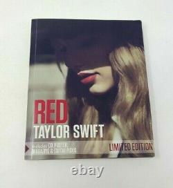Taylor Swift Red Limited Edition CD Poster Magazine Guitar Picks
