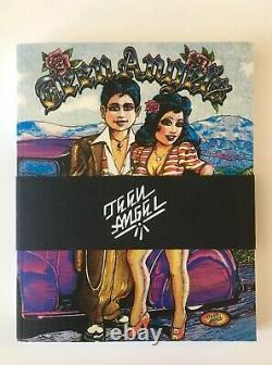 Teen Angels Magazine Book 1st Edition, Rare, Sold out Tattoo, Lowrider, Gang Art