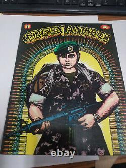 Teen Angels Magazine Green Angels Edition Circa 1983 1st Issue Rare Chicano