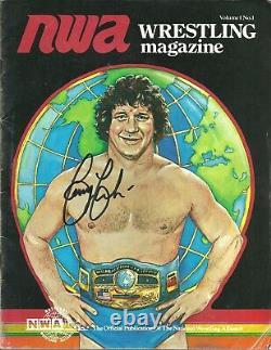 Terry Funk signed Vintage Historical Wrestling Document #2 with COA BONUS