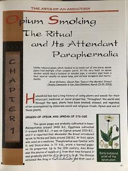 The Arts of Addiction Opium Book Pipe Lamp Smoking Tray Pillow Knife Jar Weights