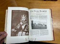 The House Beautiful Magazine Bound 15 Vols 1897 1904 Red Leather Herbert Stone