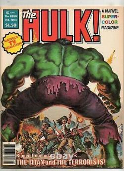 The Hulk #13 1979 Magazine HIGH GRADE NM 9.4! RARE 1ST SIENKIEWICZ MOON KNIGHT