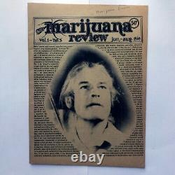 The Marijuana Review Vol 1-5 1968 Timothy Leary Lsd Vintage High Times Magazine